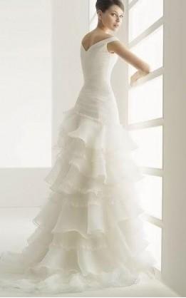 abito da sposa V2063