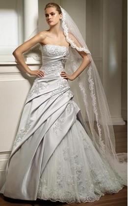 abito da sposa V2065