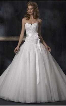 abito da sposa V2066