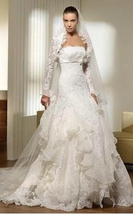 abito da sposa V2067