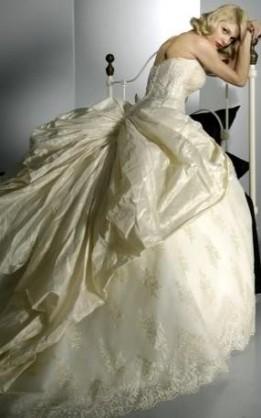 abito da sposa V2068