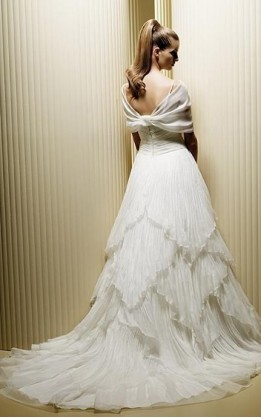 abito da sposa V2076