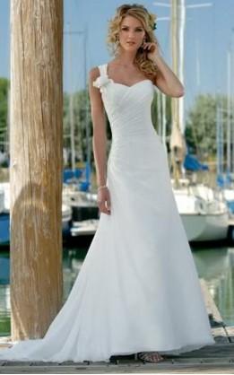abito da sposa V2087