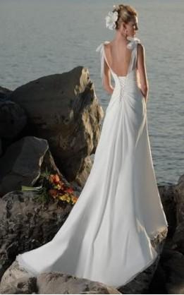 abito da sposa V2088