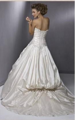 abito da sposa V2093