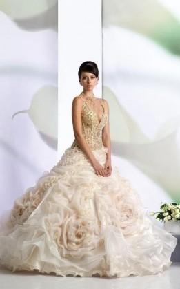 abito da sposa V2098