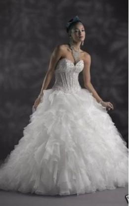 abito da sposa V3002