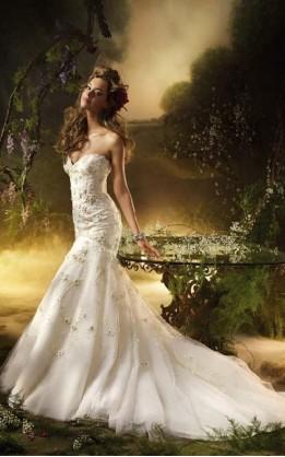 abito da sposa V3020