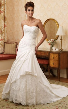 abito da sposa V3032