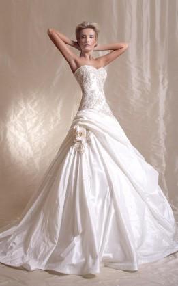 abito da sposa V3033