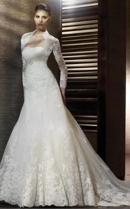 abito da sposa V3036