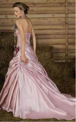 abito da sposa V3040