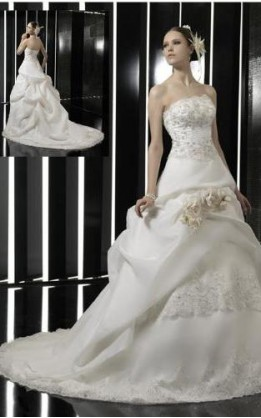 abito da sposa V3043
