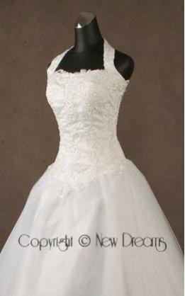 abito da sposa V3045