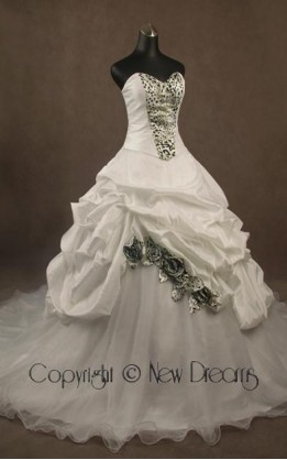 abito da sposa V3058