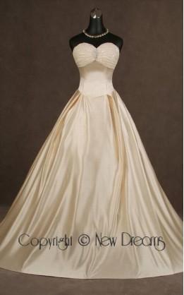 abito da sposa V3054