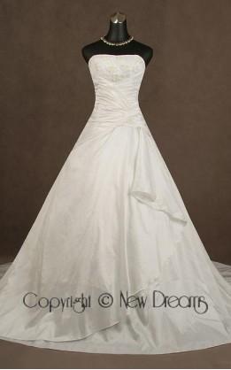 abito da sposa V3055