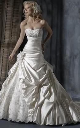 abito da sposa V3065