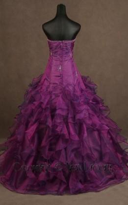 abito da sposa V3082