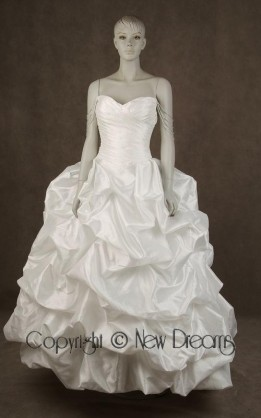 abito da sposa V3084