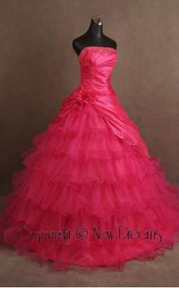 abito da sposa  V3094