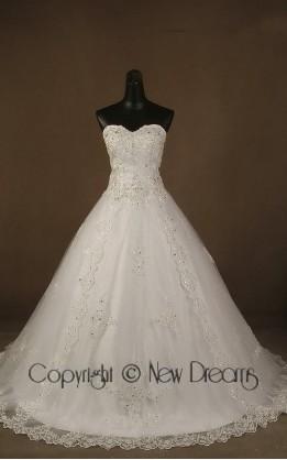 abito da sposa V3207