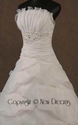 abito da sposa V4007