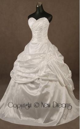 abito da sposa V4008