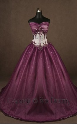 abito da sposa V3085