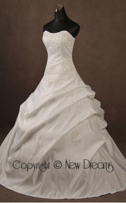 abito da sposa  V4011