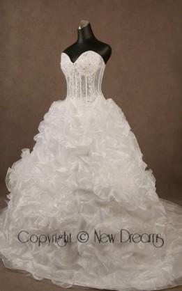 abito da sposa  V4012