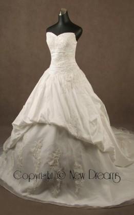 abito da sposa  V4013