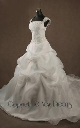 abito da sposa  V4014