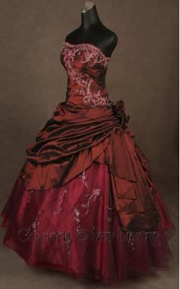 abito da sposa V4017