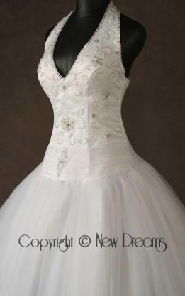 abito da sposa V4018