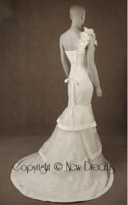 abito da sposa V4019