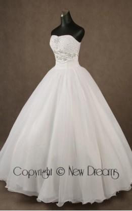 abito da sposa V4020