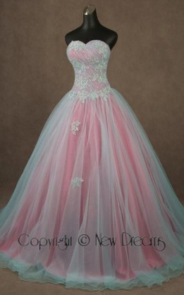 abito da sposa V4021