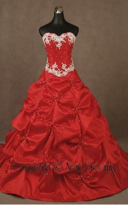abito da sposa V4023