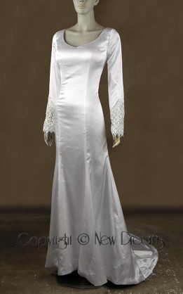 abito da sposa V4042