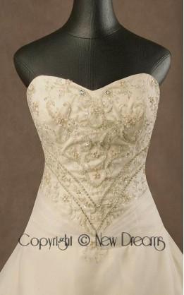 abito da sposa V5010