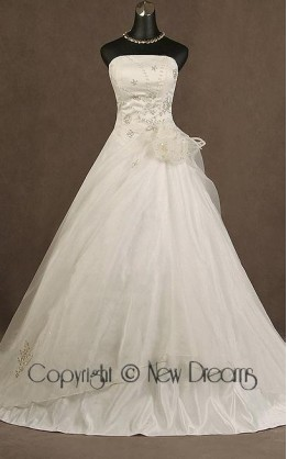 abito da sposa V5016