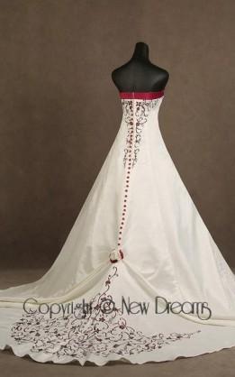 abito da sposa V5018