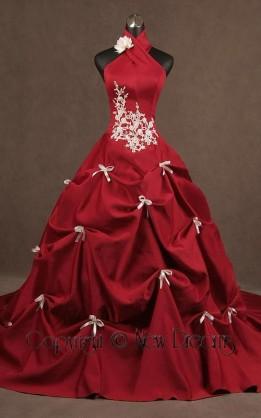 abito da sposa V5019