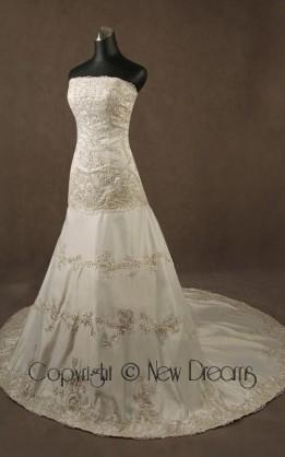 abito da sposa V5023