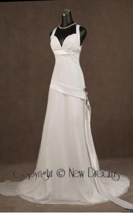 abito da sposa V5033