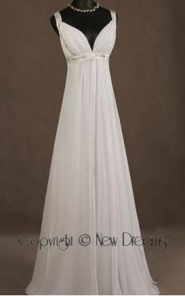 abito da sposa V5037