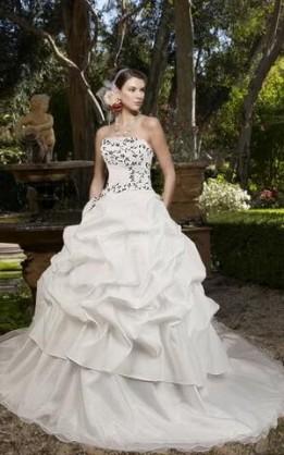 abito da sposa V5039