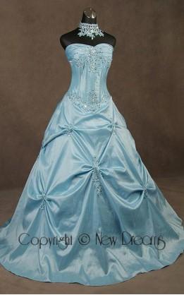abito da sposa V5040