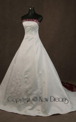 abito da sposa V5041